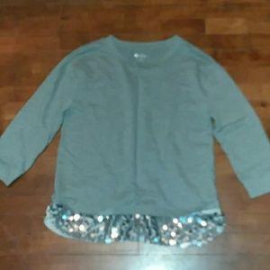 Womans medium long sleeve shirt